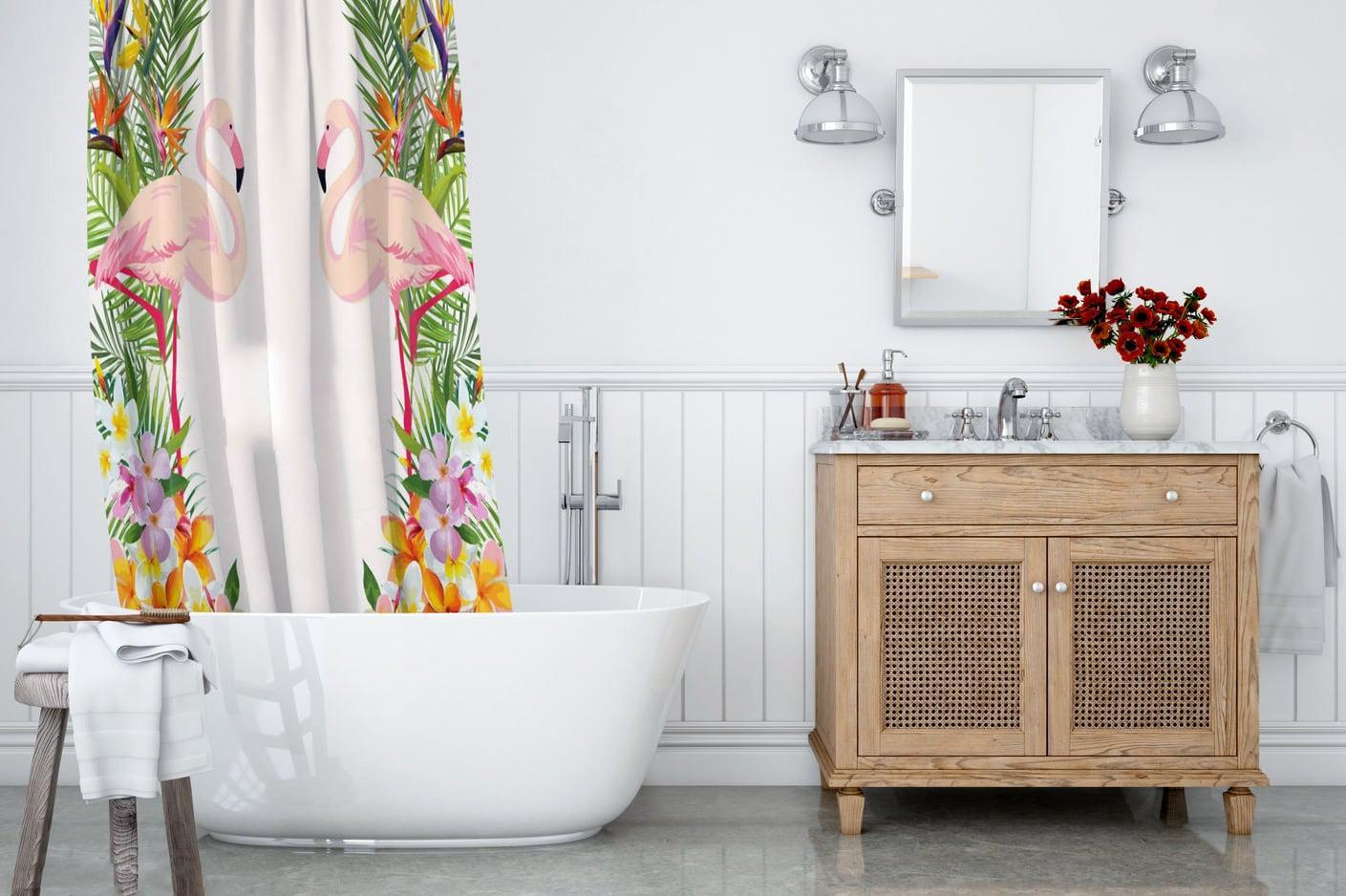 Как очистить шторку для ванной