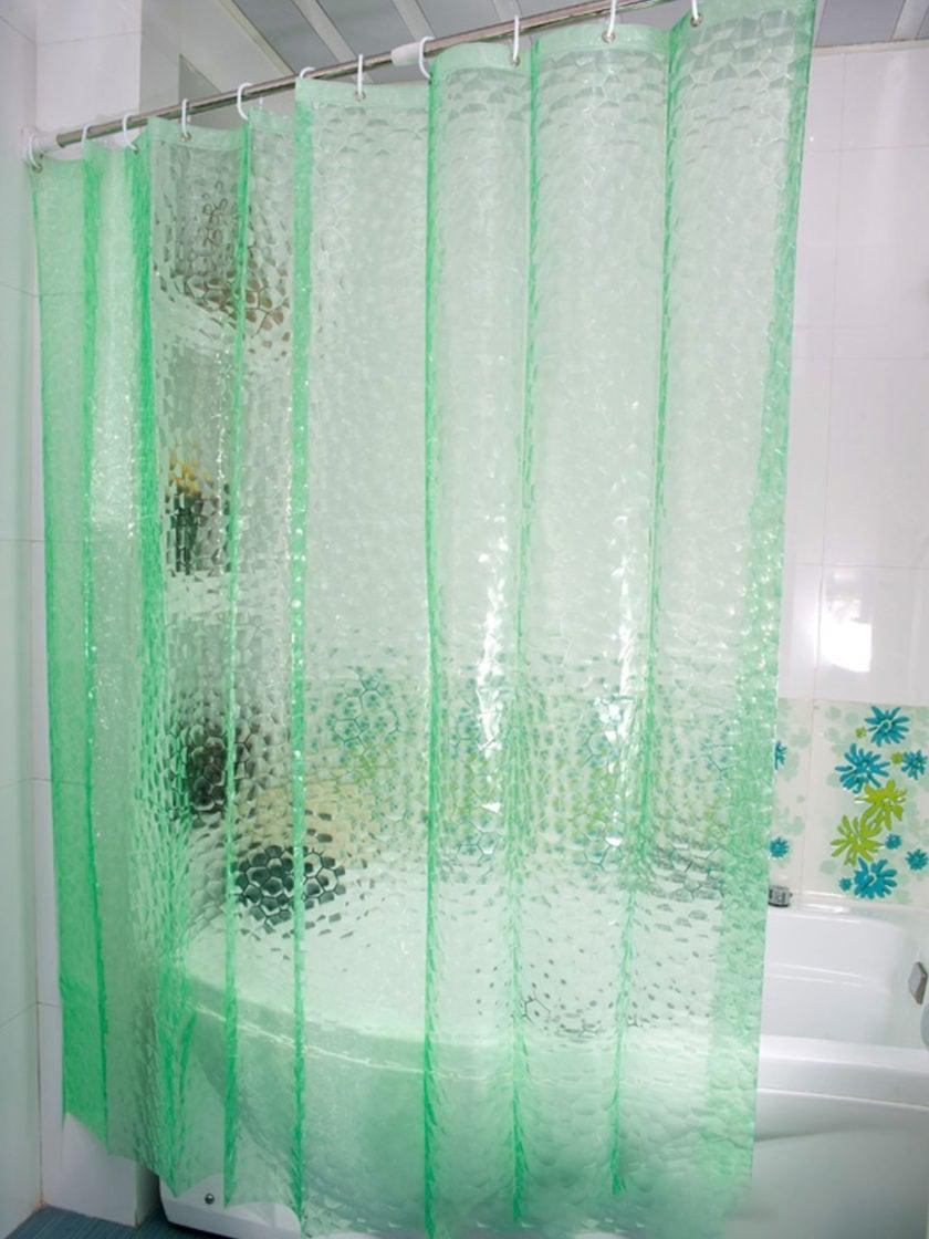 Чем отмыть шторку для ванной?