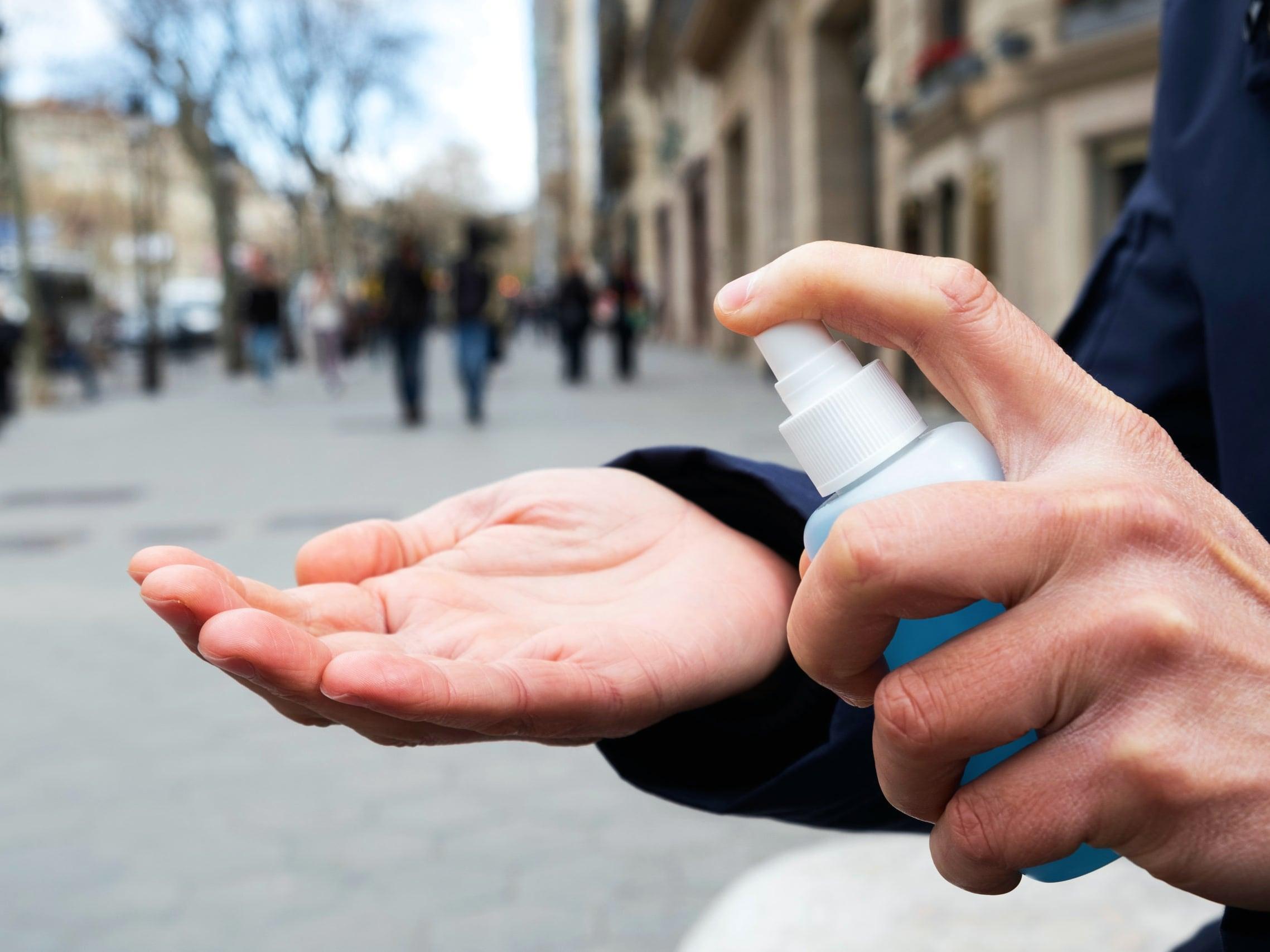 Антисептик для дезинфекции рук
